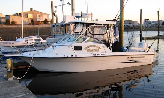 Rent 32' Luhrs Cuddy Cabin In Narragansett, Rhode Island