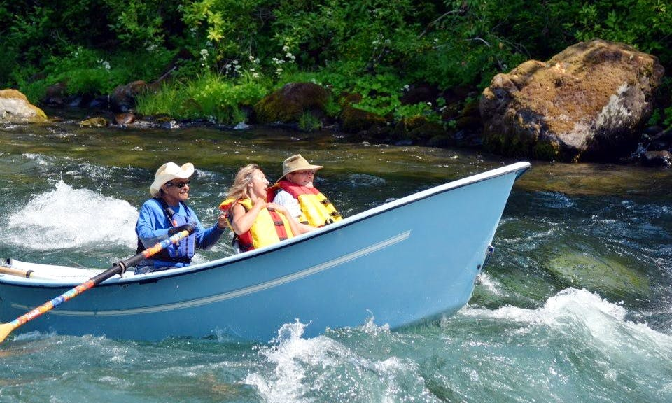 Drift Boat Fly Fishing Trip in Eugene, Oregon