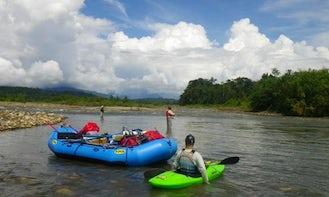 Raft Fishing Trip Boats In Cusco