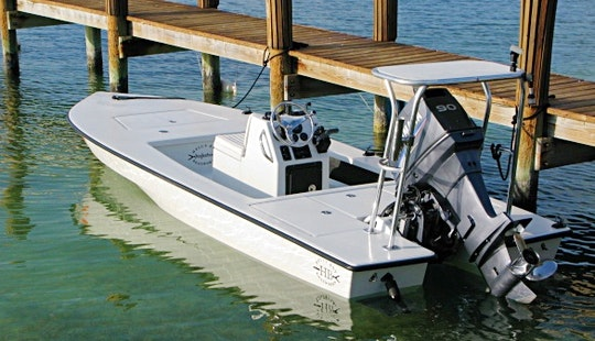 Enjoy 17.8' Hell's Bay Fishing Charter In Miami