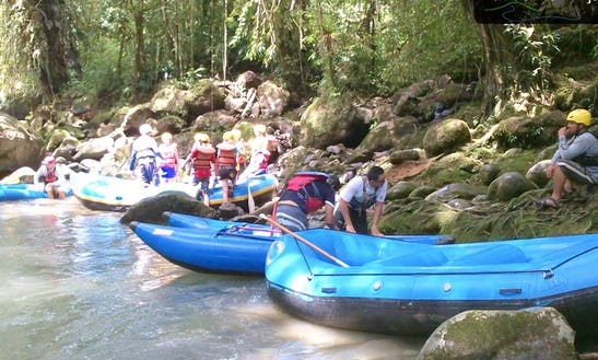 Whitewater Rafting On The Pacuare River, Costa Rica