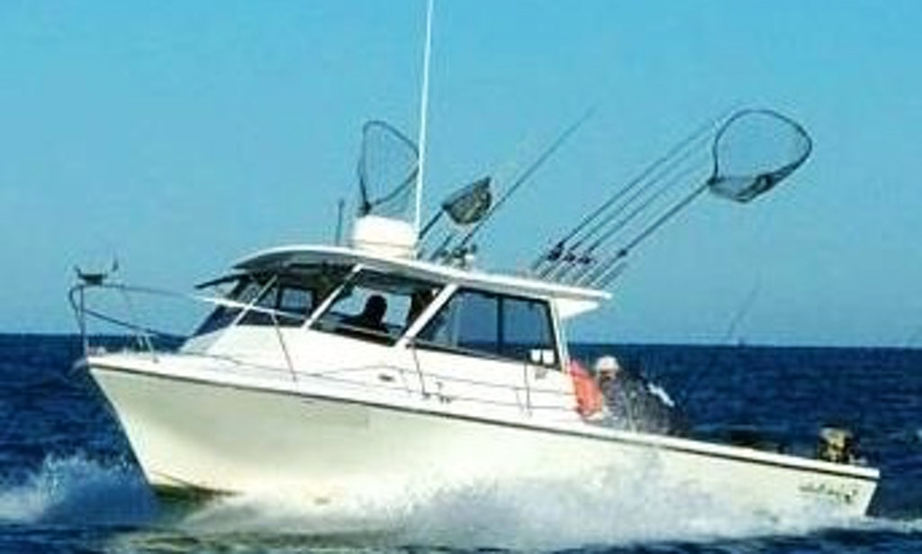 30 39 island hopper fishing chater in oak harbor getmyboat for Fishing charters cleveland ohio