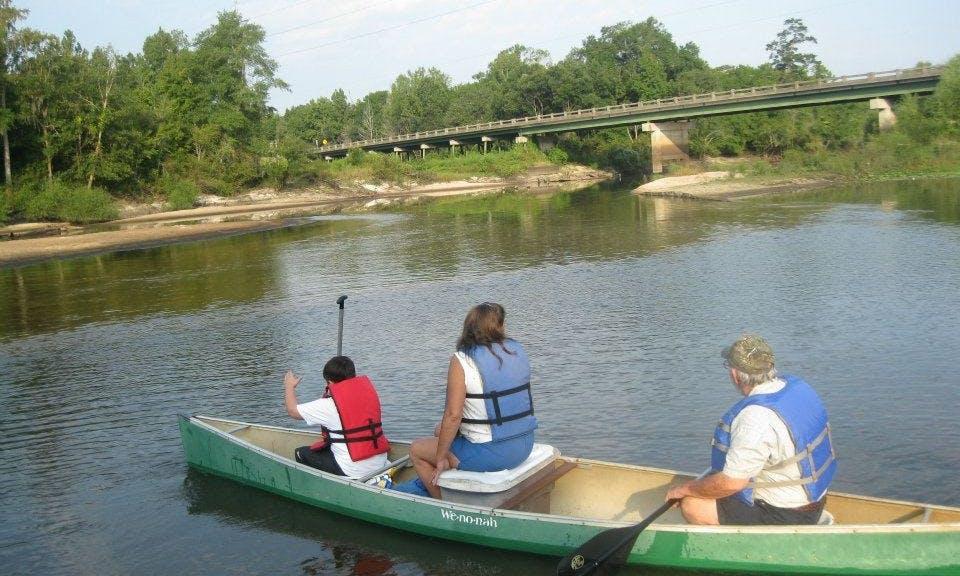 Canoe Rental In Savannah