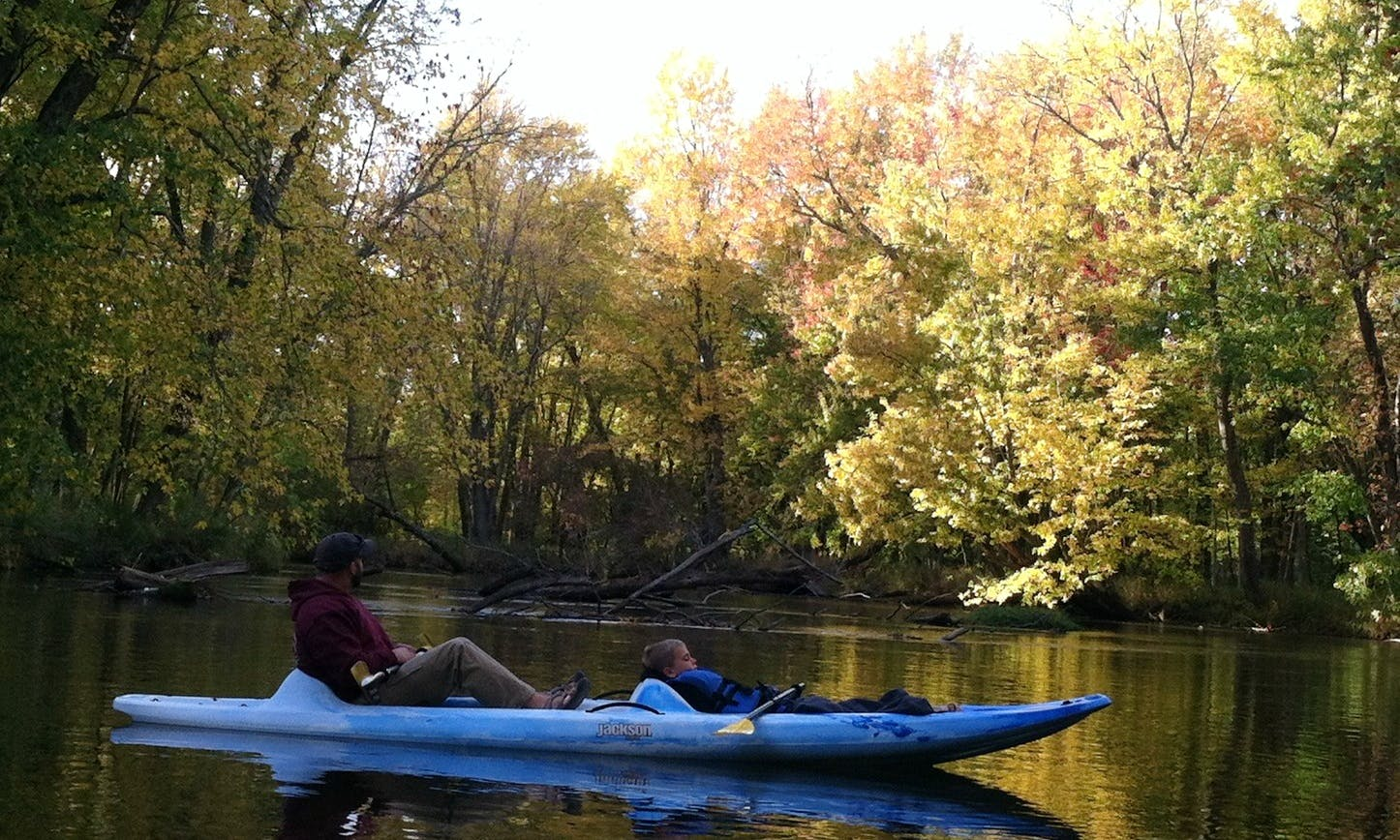 Kayak Rental in Scottville