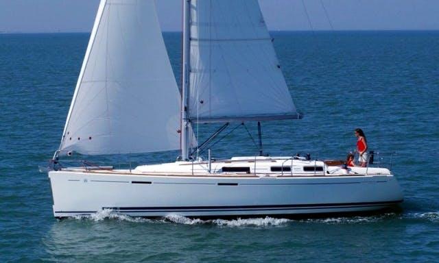 Cruising Monohull Luxurious 'DUFOUR 365 GL' Charter in Haute-Normandie