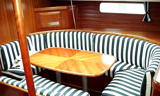 Luxury Cruising Monohull 'OCEANIS 473' Charter in Haute-Normandie