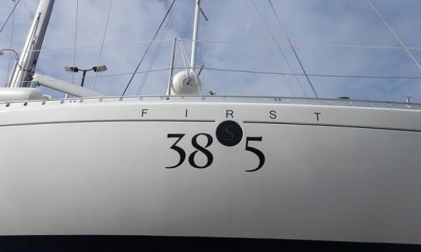 Luxury Cruising Monohull 'First 38S5' Charter in Haute-Normandie