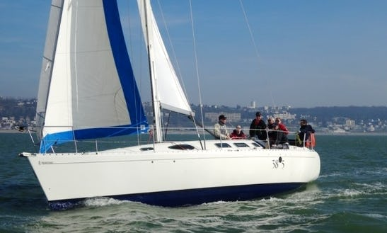 Luxury Cruising Monohull 'first 38s5' Charter In Haute-normandie