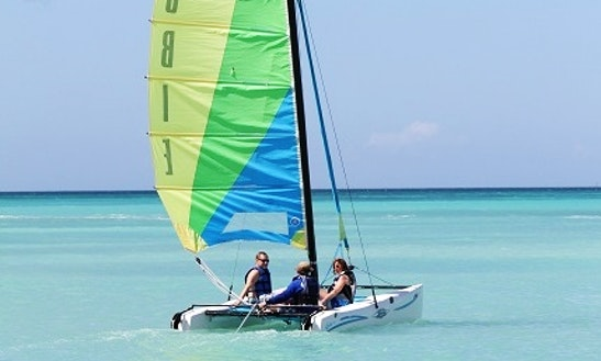 Sailing Hobie Cat Rental In Noord, Aruba