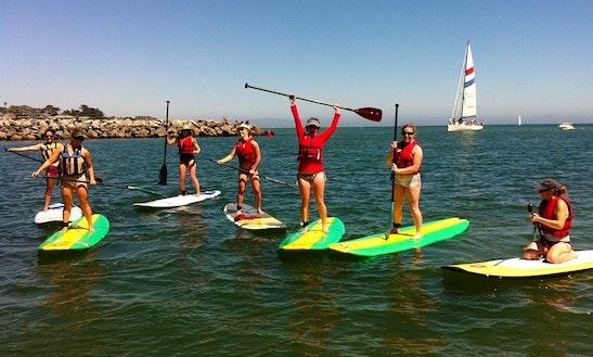 Stand Up Paddleboard Rental In Santa Cruz