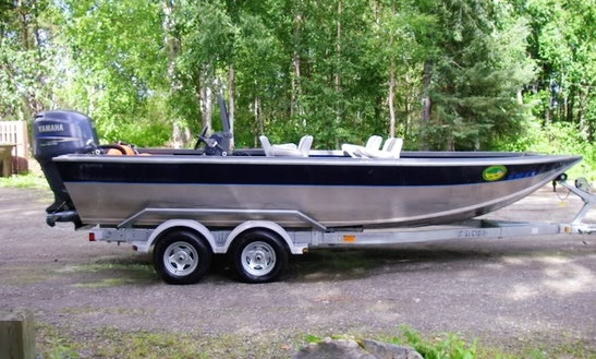 21' Bass Boat Charter In Portland, Oregon