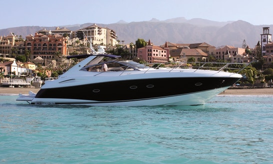 Luxury Private Sunseeker Porto Fino 46 - Charter In Costa Adeje - Pontoon 8
