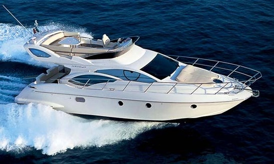 Luxury Motor Yacht  Azimut 46  Charter In Saint Philip