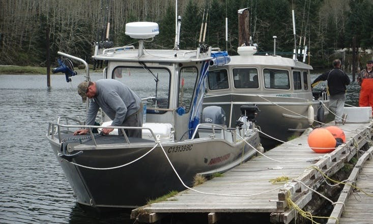 23' Fishing Charter In Port Renfrew