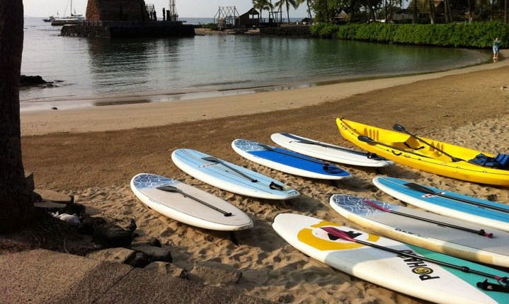 Stand Up Paddleboad Rental in Kailua, Hawaii