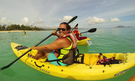 Single Kayak Rental In Kailua, Hawaii