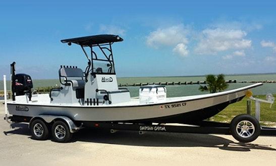 25' Mowdy Fishing Charter In Seadrift