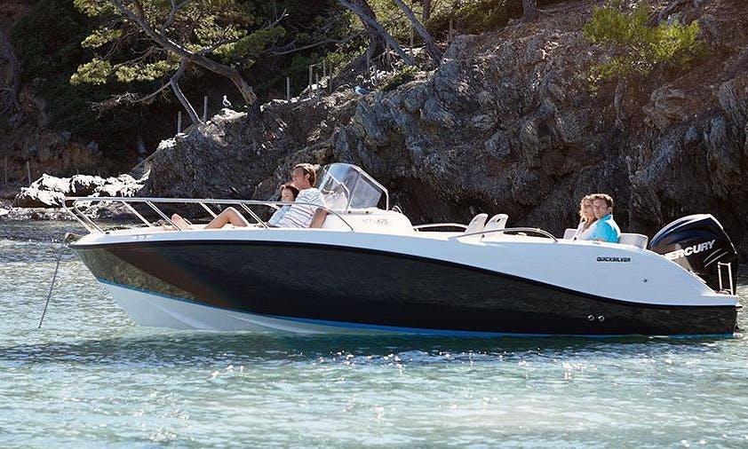 2014 Quicksilver 675 SD Bowrider Rental in Makarska, Croatia