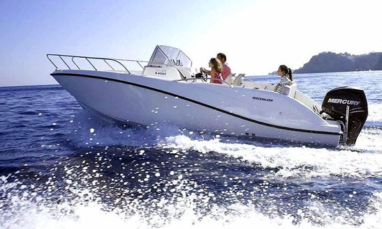 2014 Quicksilver 675 Sd Bowrider Rental In Makarska, Croatia