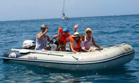 Big Rigid Inflatable Boat Rental In Spain