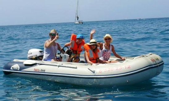 Big Rigid Inflatable Boat Rental In Spain