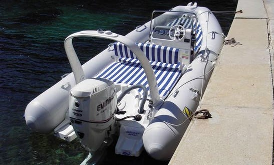 Coastal Trips Boat In Calp