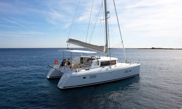 """Lagoon 420 """"Valentina III"""" Sailing Catamaran Charter in Betina"""