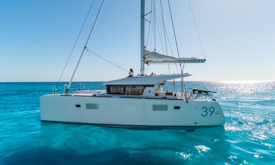 "Lagoon 39 ""Anegada"" Sailing Catamaran Charter in Betina"