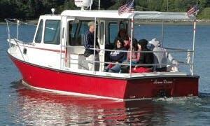 Rent 25' Lorna Doone' Northern Bay Yacht  In Lubec, Maine