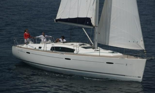 """Mataa"" Beneteau Oceanis Sailing Yacht Charter in Soúrpi"