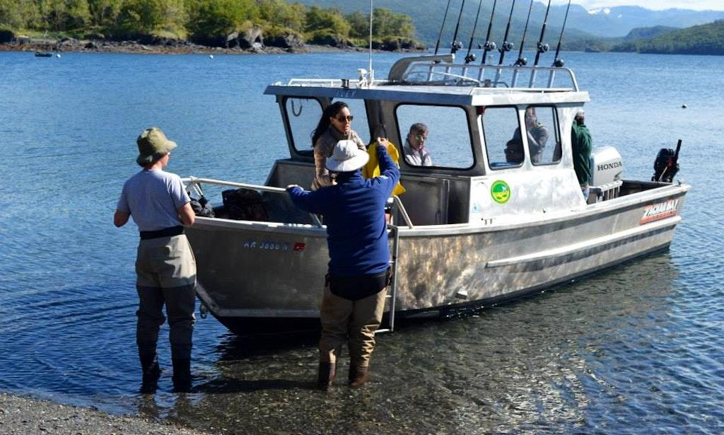 fishing charter 26 39 trawler in kodiak island alaska ForKodiak Fishing Charters