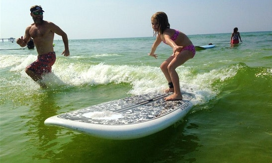Surfing Lesson In Fort Walton Beach