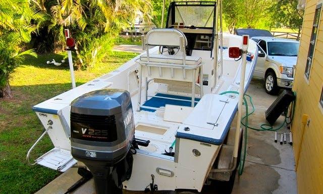 "19ft ""Mako"" Center Console Fishing Charter in Saint Bernard, Louisiana"