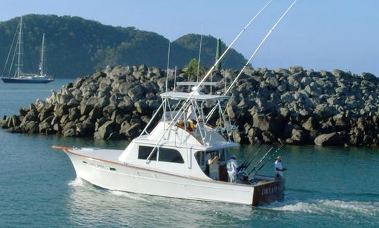 32' Irvin Forbes Express Fishing Charter In Costa Rica