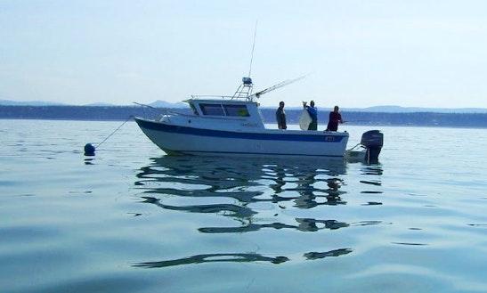 Deep Creek Halibut Fishing In Ninilchik, Alaska