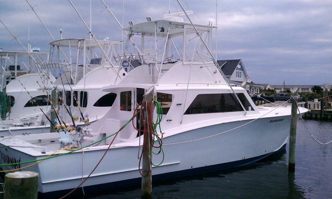"Enjoy ""Runaway"" 46ft Sportfishing Charter in Hatteras"