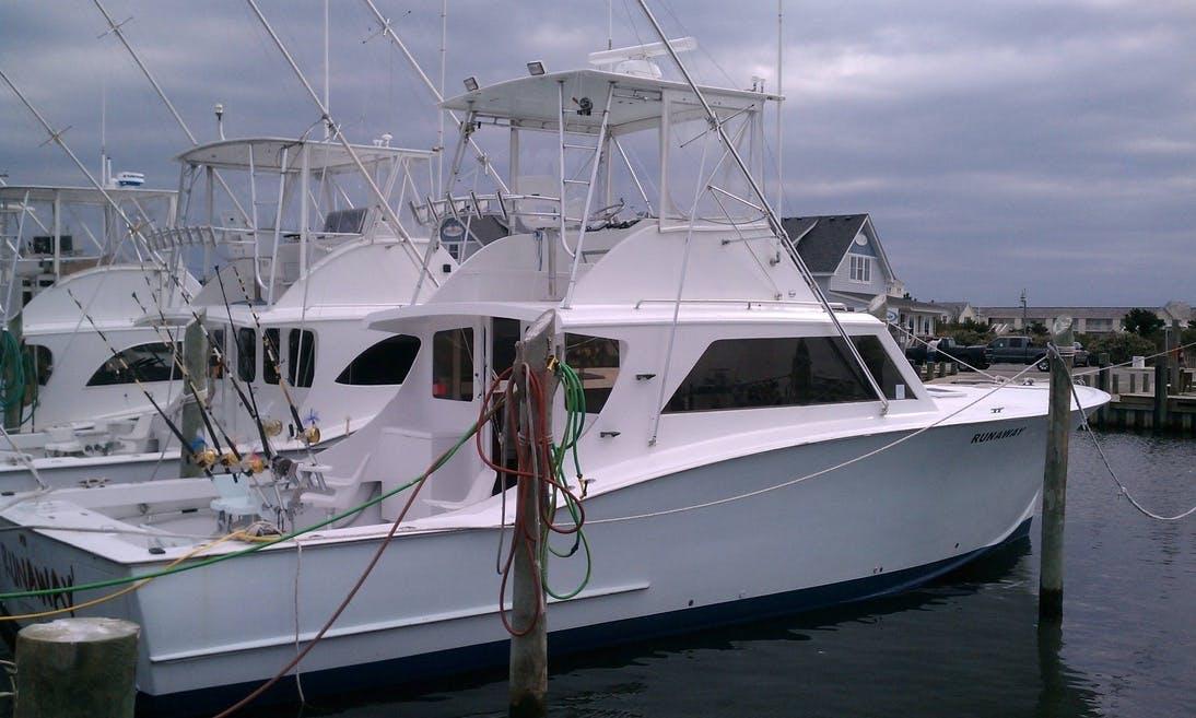 "Enjoy ""Runaway"" 46ft Sportfishing Charter in Hatteras"