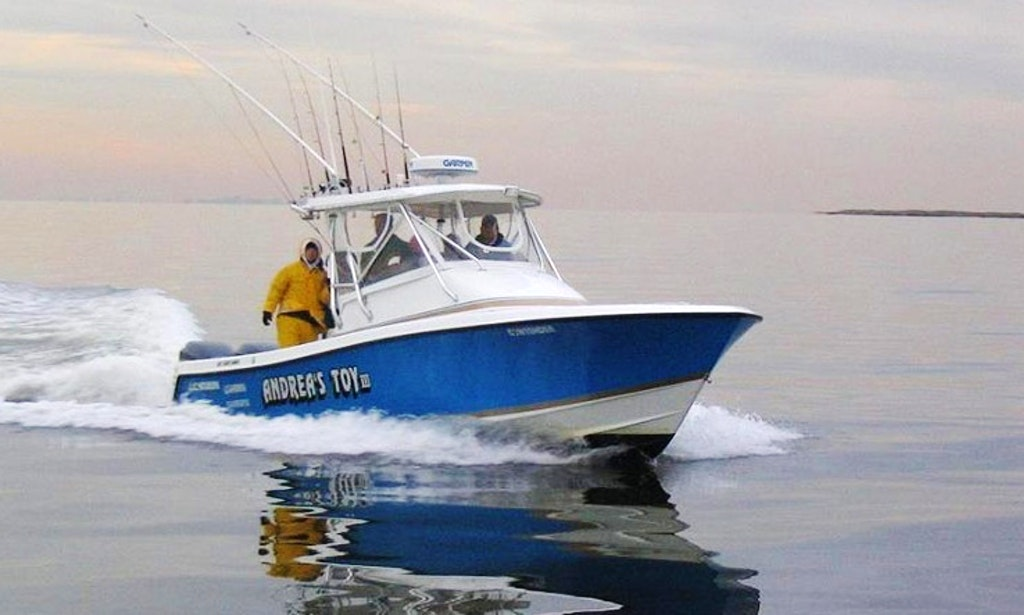 33 39 cuddy cabin fishing charter in new jersey getmyboat for Fishing boats point pleasant nj