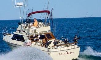 28' Sport Fishing Charter In Port Austin