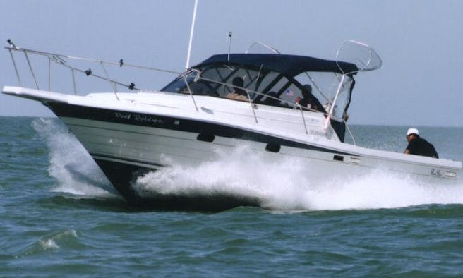 30' Penn Yan Fishing Charter In Ohio