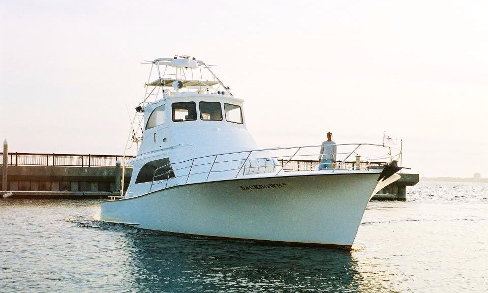 "Fishing Charter On ""Back Down 2"" Sport Fishing Boat In Destin, Alabama"