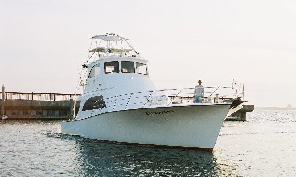 "Fishing Charter On ""Back Down 2"" Sport Fishing Boat In Destin, Alabama"