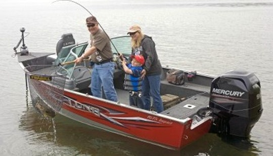 Bass Boat Rental On Trout Lake, Ontario