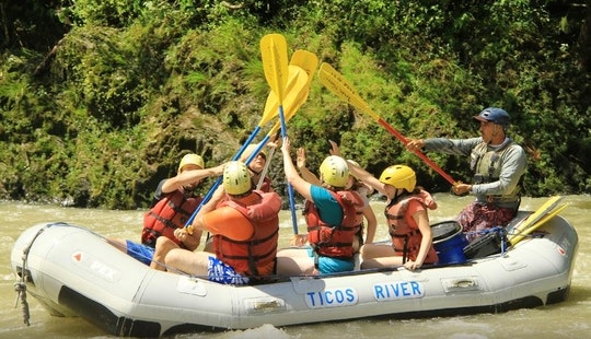 Whitewater Rafting In Turrialba, Costa Rica