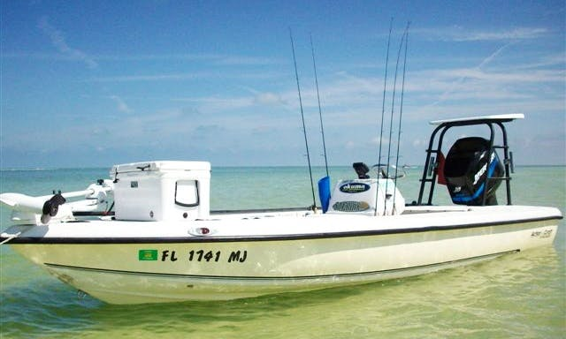 Inshore Fishing Charter On 19' Action Craft With Captain Dustin