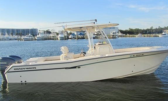 Offshore Fishing Charter On 28' Grady White In New Port Richey, Florida