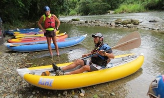 Canoe Adventure in Costa Rica