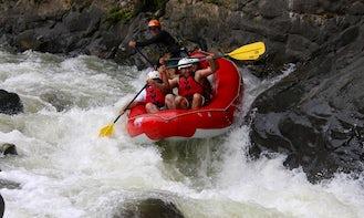 White Water Rafting Thrills in Costa Rica