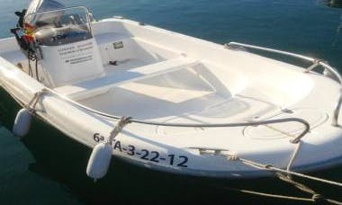 14' Astec II Boat Rental In L'Ampolla