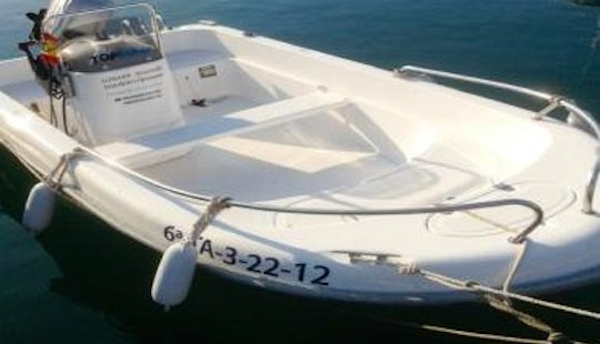 14' Astec Ii Boat Rental In L'ampolla
